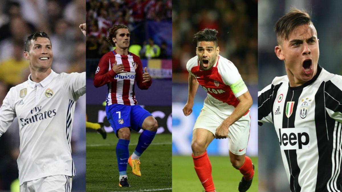 Real Madrid, Atlético, Mónaco y Juventus animan sorteo de semis de Champions League