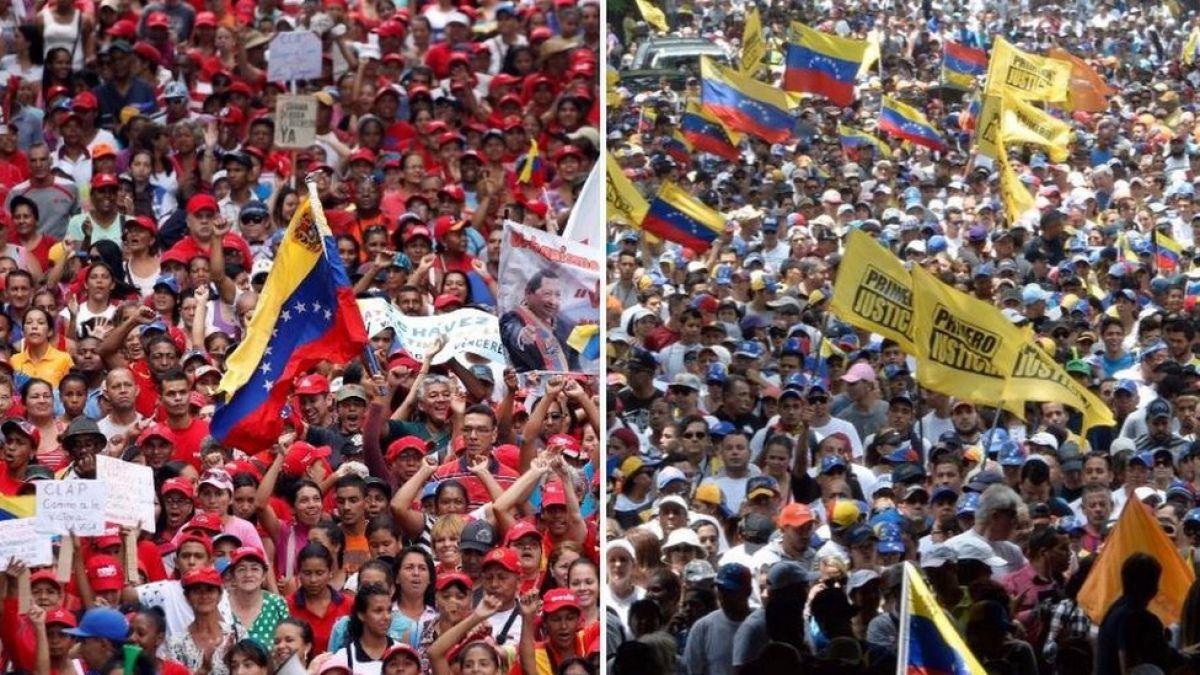[FOTOS] Fotos de la gran protesta en Venezuela
