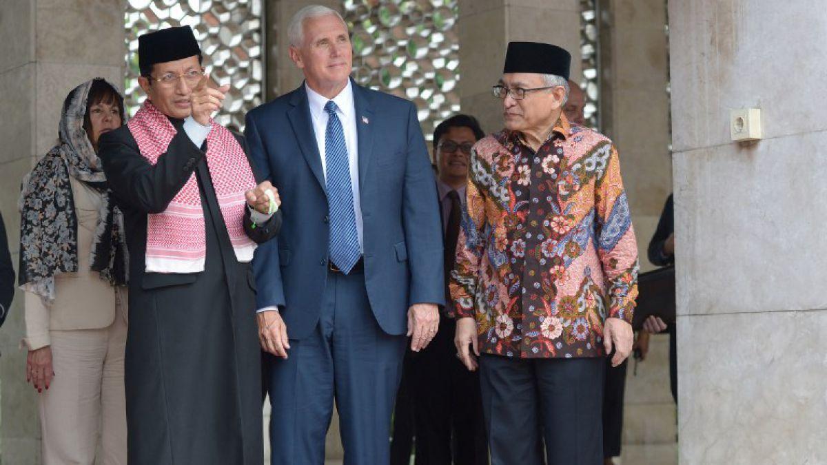 Vicepresidente de Estados Unidos visita Indonesia