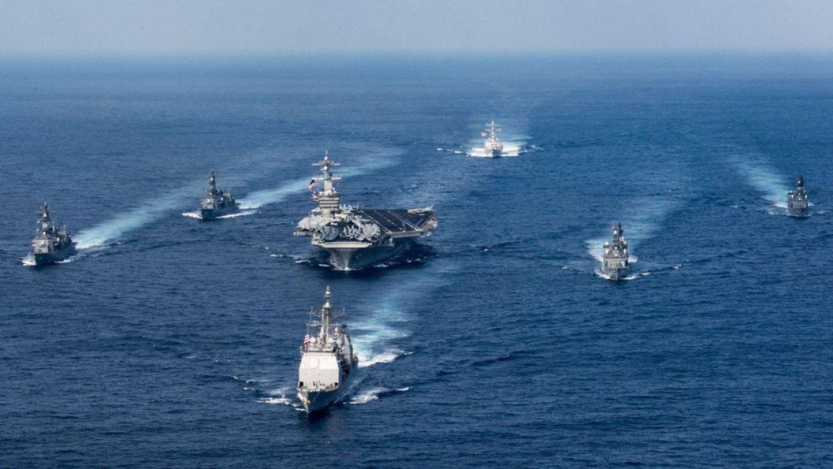 Estados Unidos dice que su armada muy poderosa ahora sí avanza hacia la península de Corea