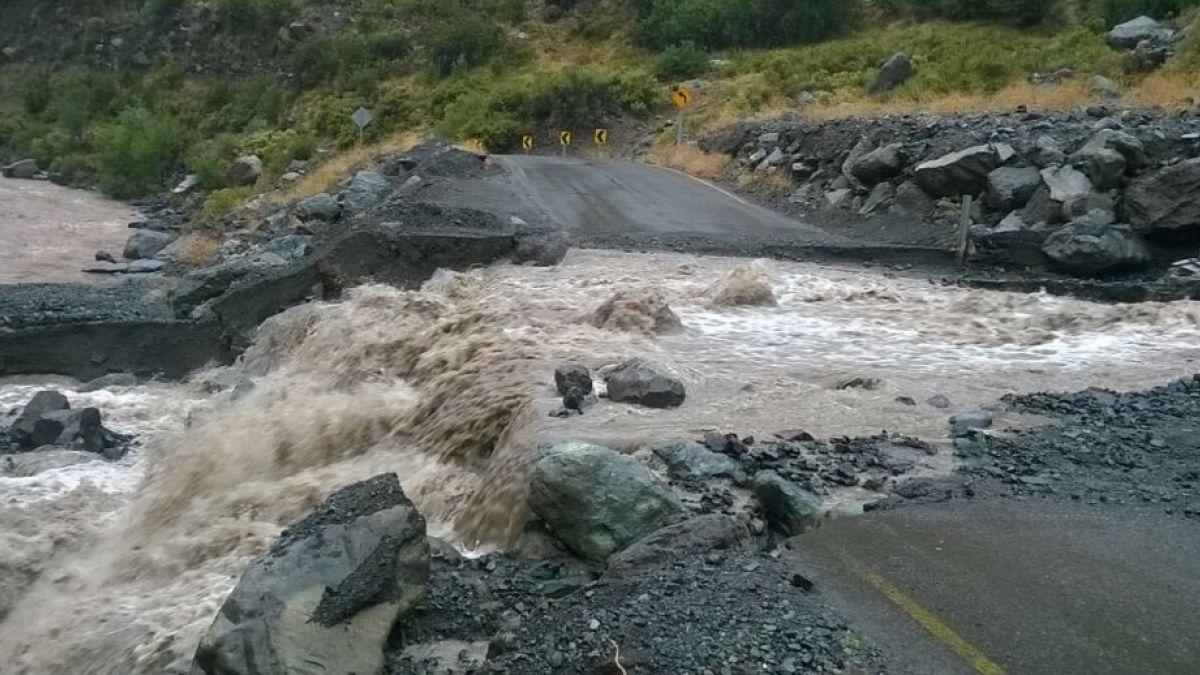 Declaran Alerta Amarilla para San José de Maipo por sistema frontal