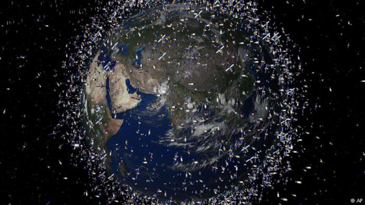 ¿Por qué es peligrosa la basura espacial?