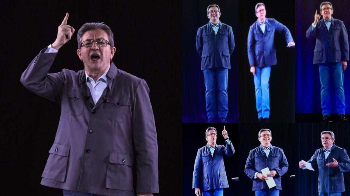 Los políticos que usan hologramas para estar en 7 lugares al mismo tiempo