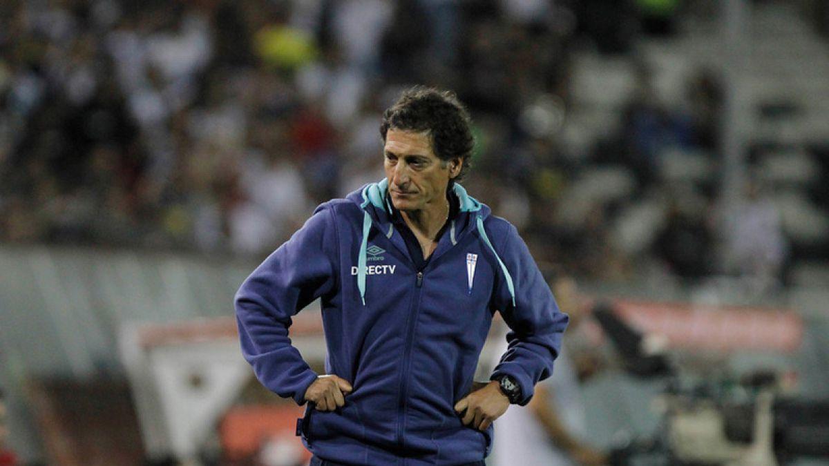 Mario Salas se olvida del Tricampeonato: La importancia ahora la tiene la Copa Libertadores
