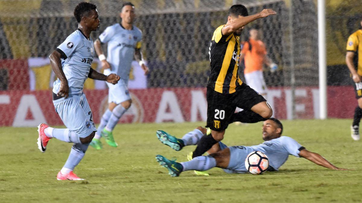 Guaraní y Gremio empatan en grupo de Iquique en Copa Libertadores