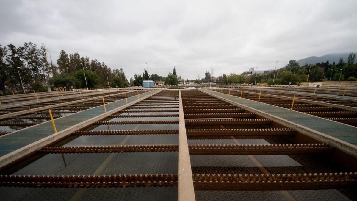 Planta de tratamiento de aguas en Las Vizcachas