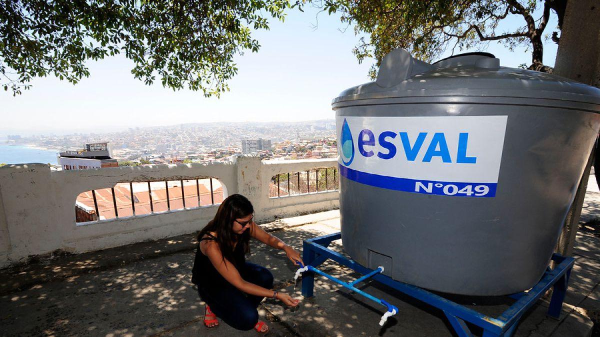Anuncian corte de agua nocturno en Gran Valparaíso y Litoral Sur   Nacional