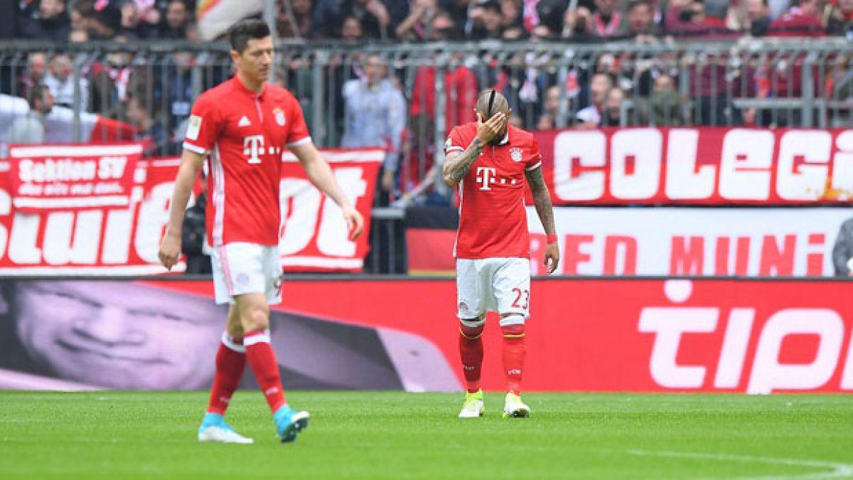 Bayern Munich de Arturo Vidal empata ante el Mainz en la Bundesliga