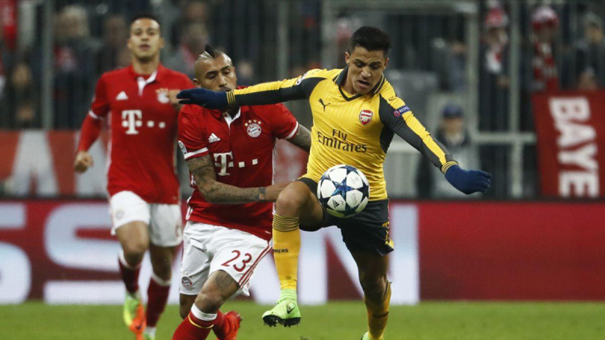 Alexis Sánchez le da el triunfo al Arsenal