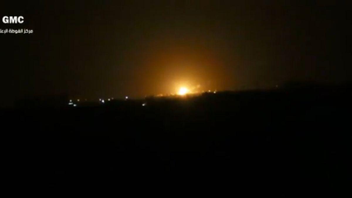 Explosión cerca de Damasco habría sido provocada por un ataque israelí