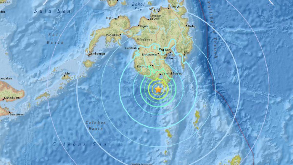Sismo de magnitud 6,2 sacude Filipinas