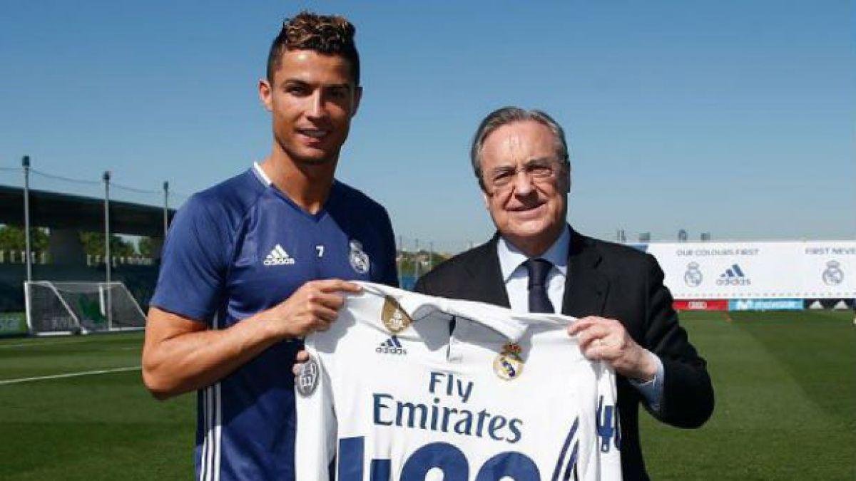Cristiano Ronaldo homenajeado con camiseta especial por sus 400 goles en Real  Madrid 726aa2efdb35d