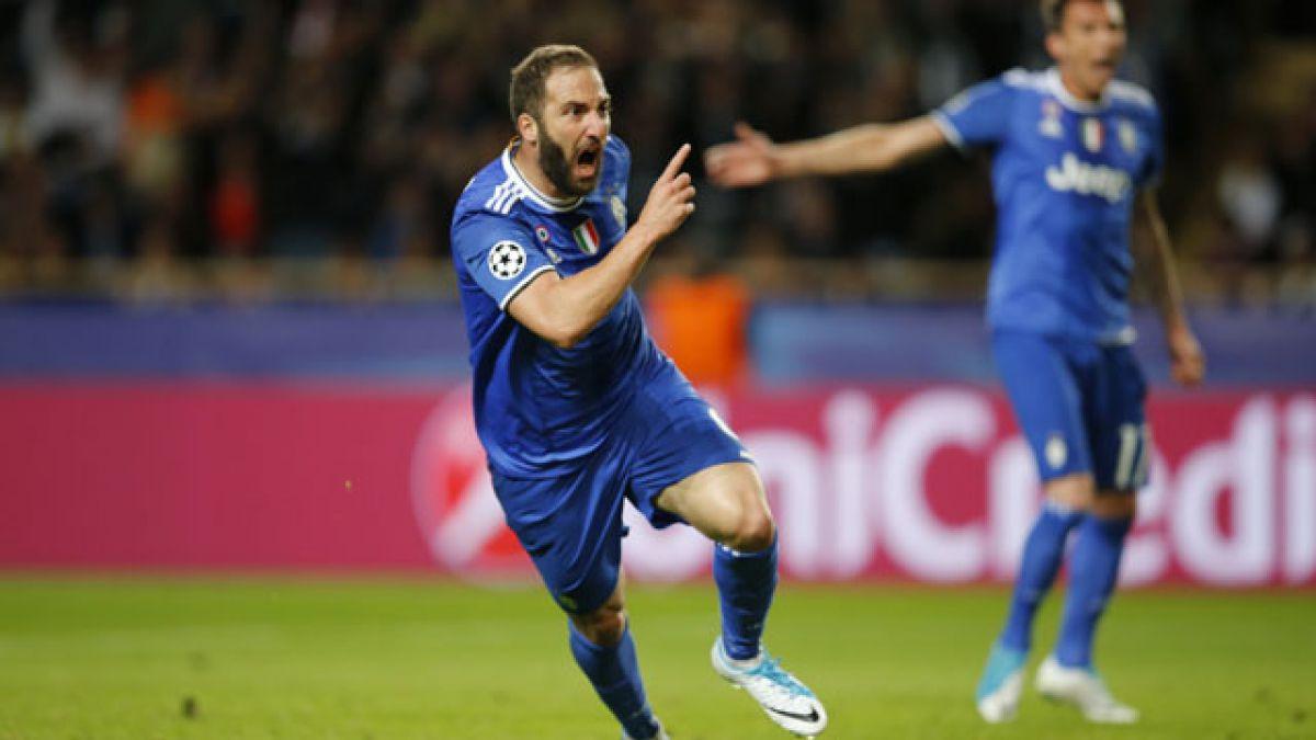 Juventus vence a Mónaco en el Principado y se acerca a la final de la Champions