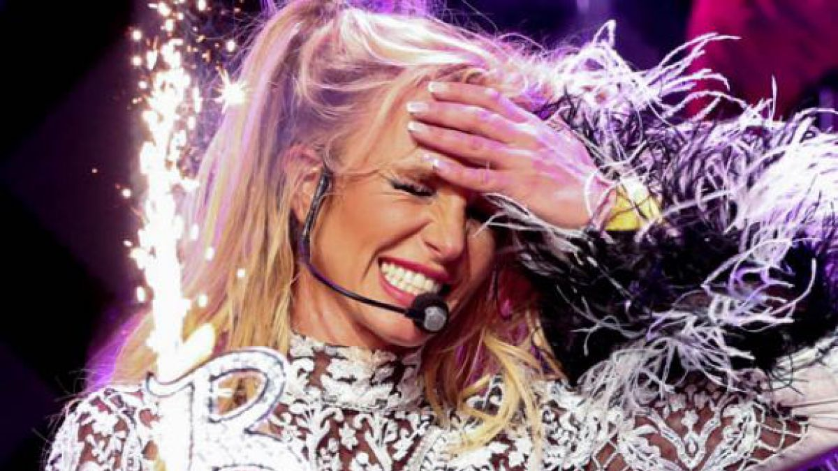 Britney Spears metió la pata y reveló un secreto de Zoe Saldana