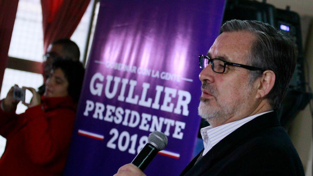 PC proclamó a Alejandro Guillier como su candidato presidencial