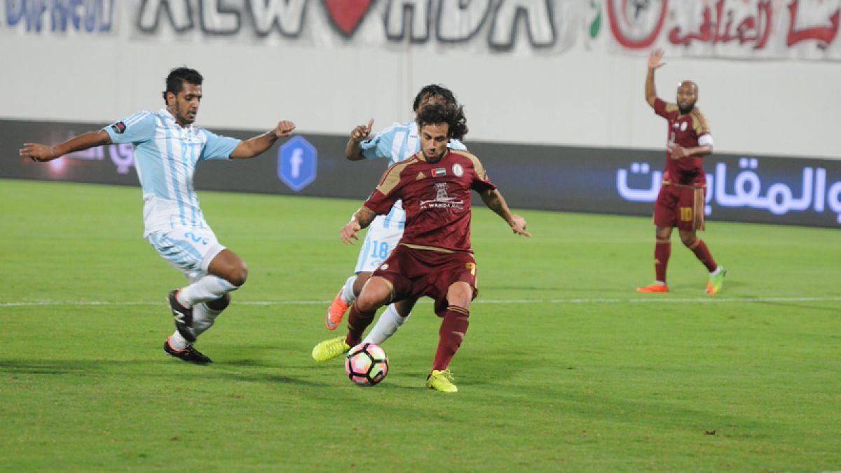 Jorge Valdivia sale lesionado en eliminación de Al Wahda de Champions League de Asia