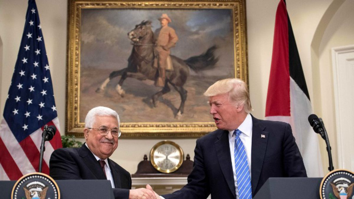 Abbas quiere el auspicio de Trump para negociar la paz con Israel