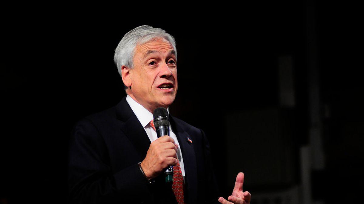 Piñera propone que Chile seleccione con cuidado a sus inmigrantes