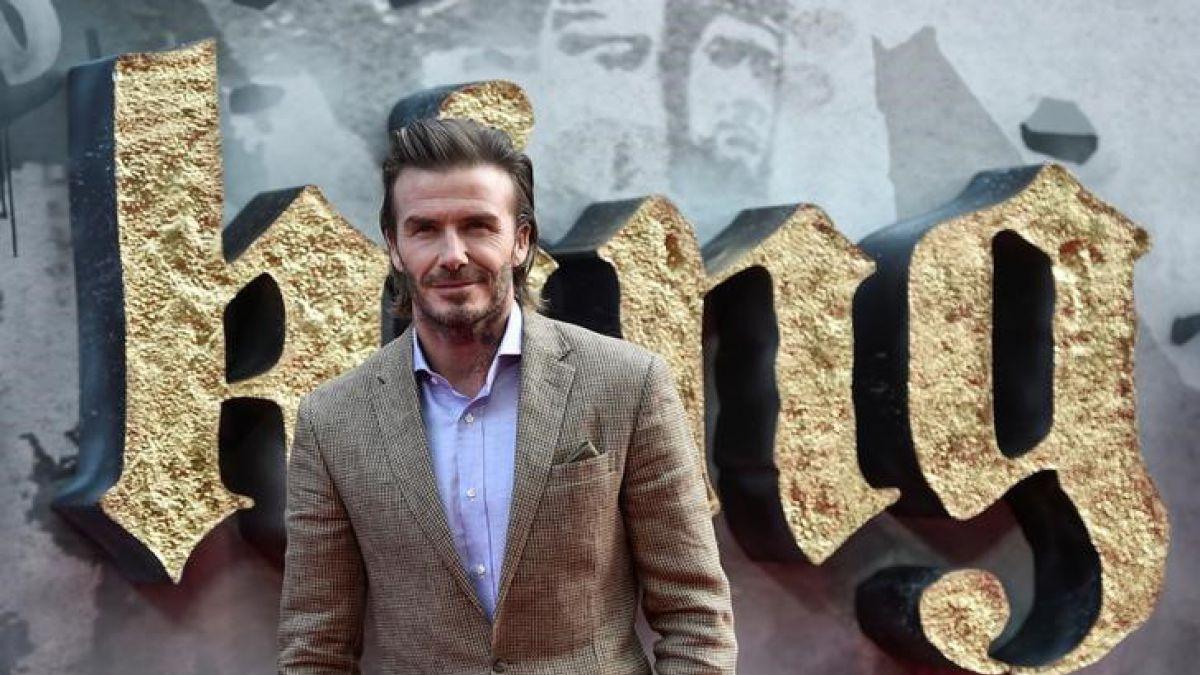 David Beckham es seriamente criticado por su mal debut en el cine