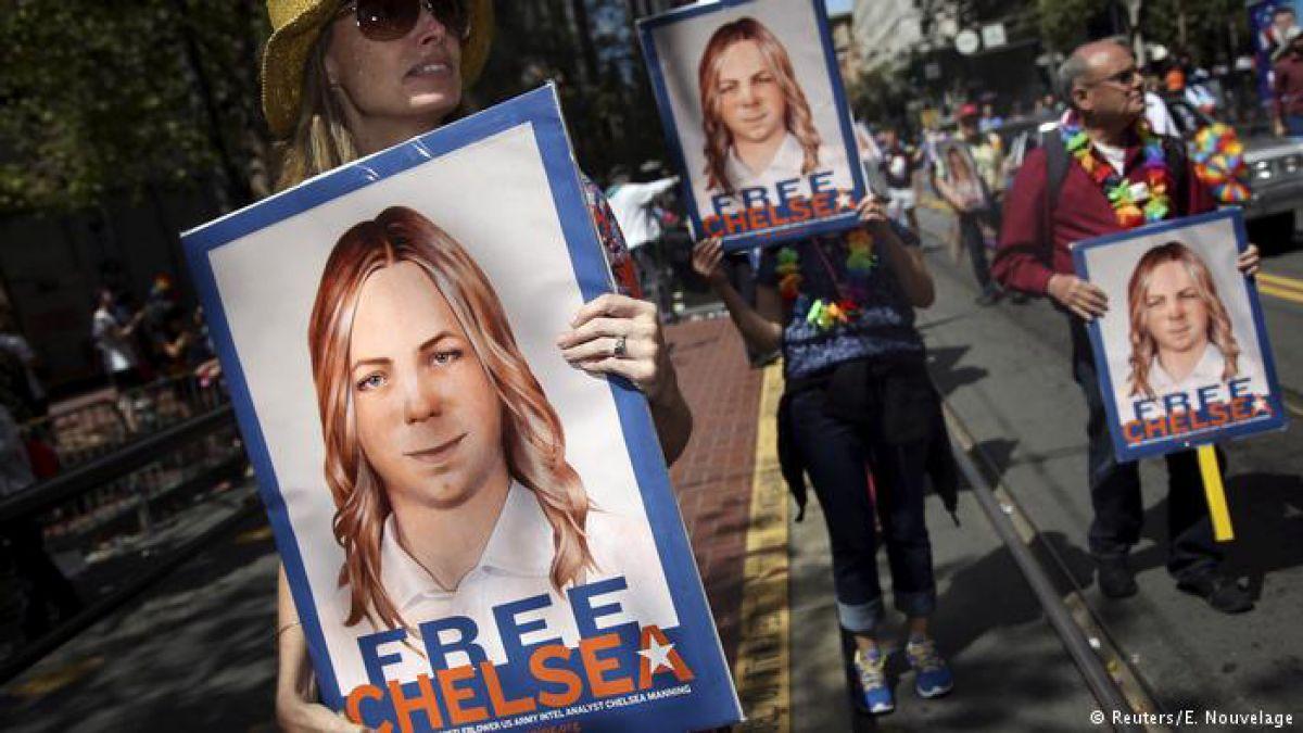 Estados UnidosQuedó libre Chelsea Manning, fuente de la filtración de Wikileaks