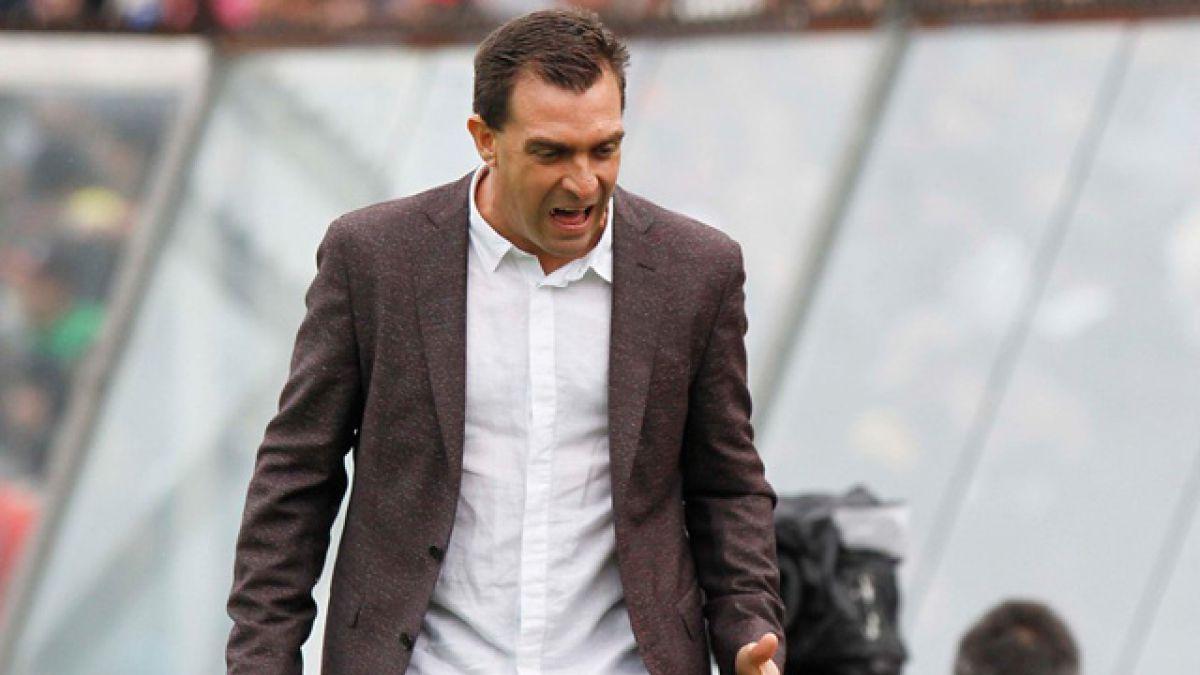 """Pablo Guede: """"Si el club me apoya no tengo porqué renunciar"""""""