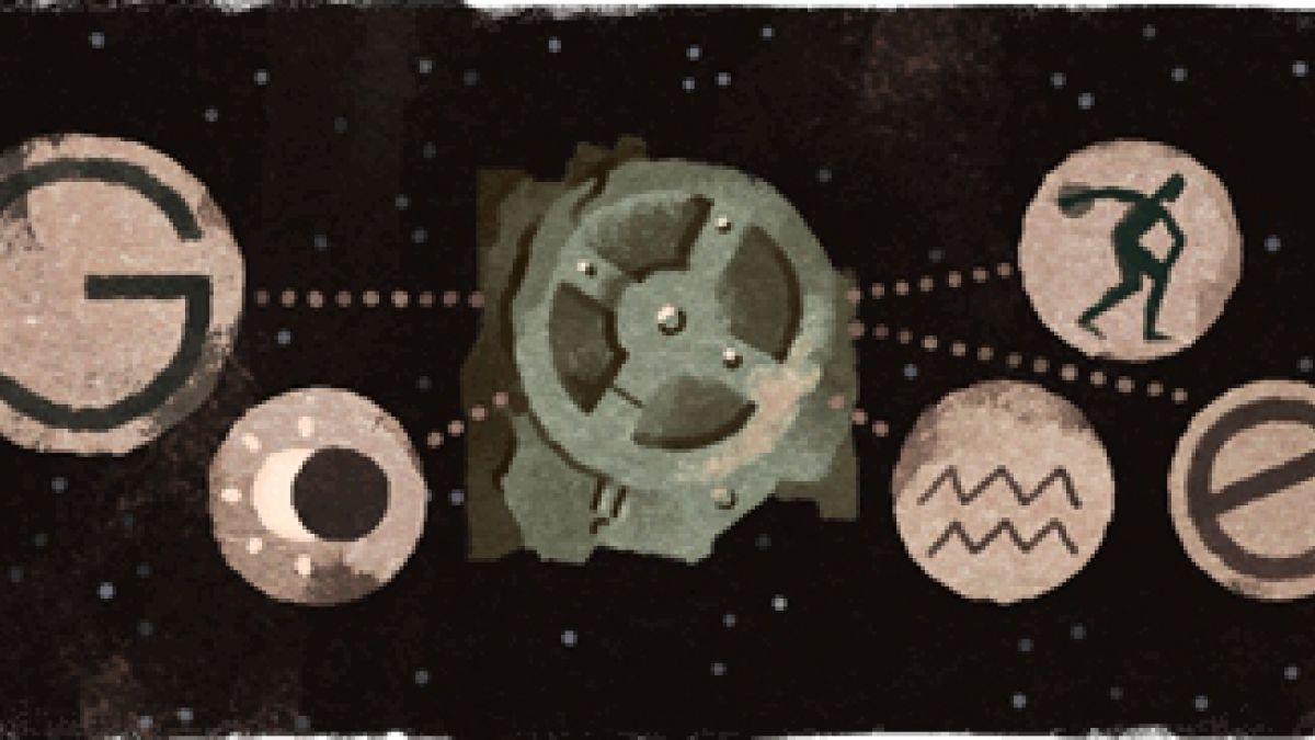 Mecanismo de Antikythera: Google conmemora su hallazgo con doodle
