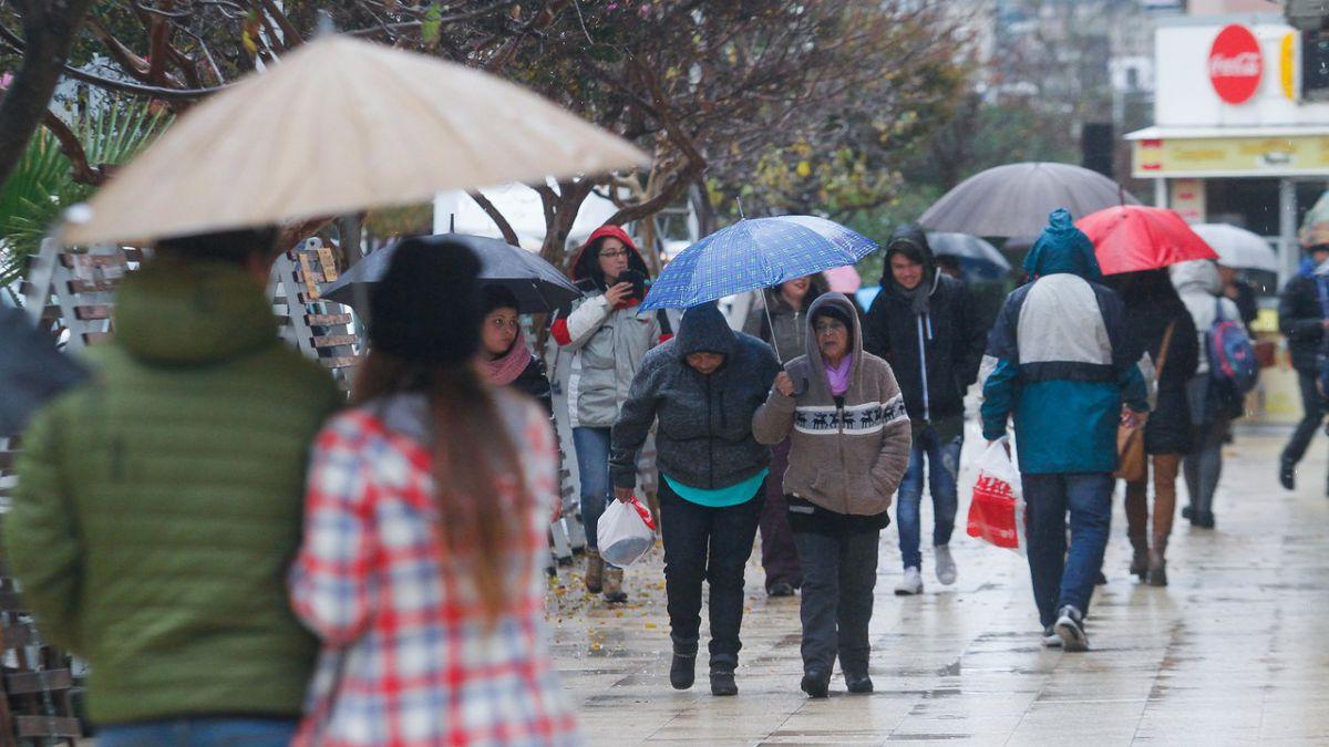 Temperaturas tendrán fuerte caída entre Coquimbo y Los Ríos