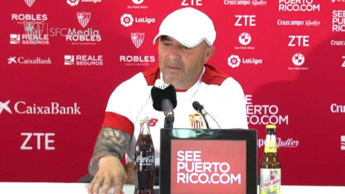 """Sampaoli se despide de Sevilla: """"Sólo dejaría mi carrera acá por dirigir la selección de mi país"""