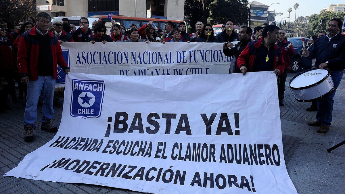 Trabajadores de Aduanas anuncian paro indefinido para este miércoles