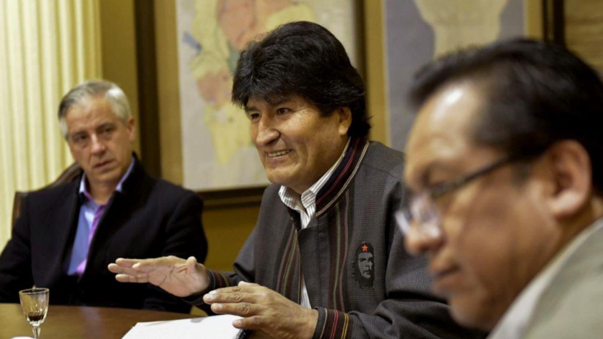Evo: Paro aduanero en Chile es una agresión económica a Bolivia