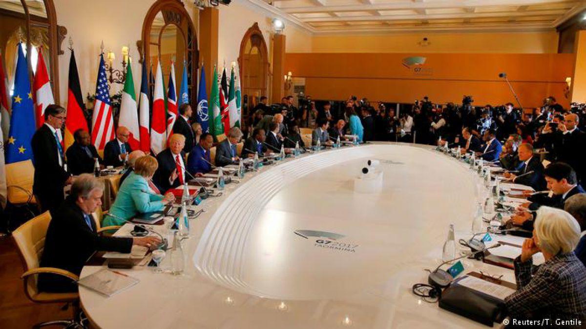 Encuentro del G7 con los líderes africanos