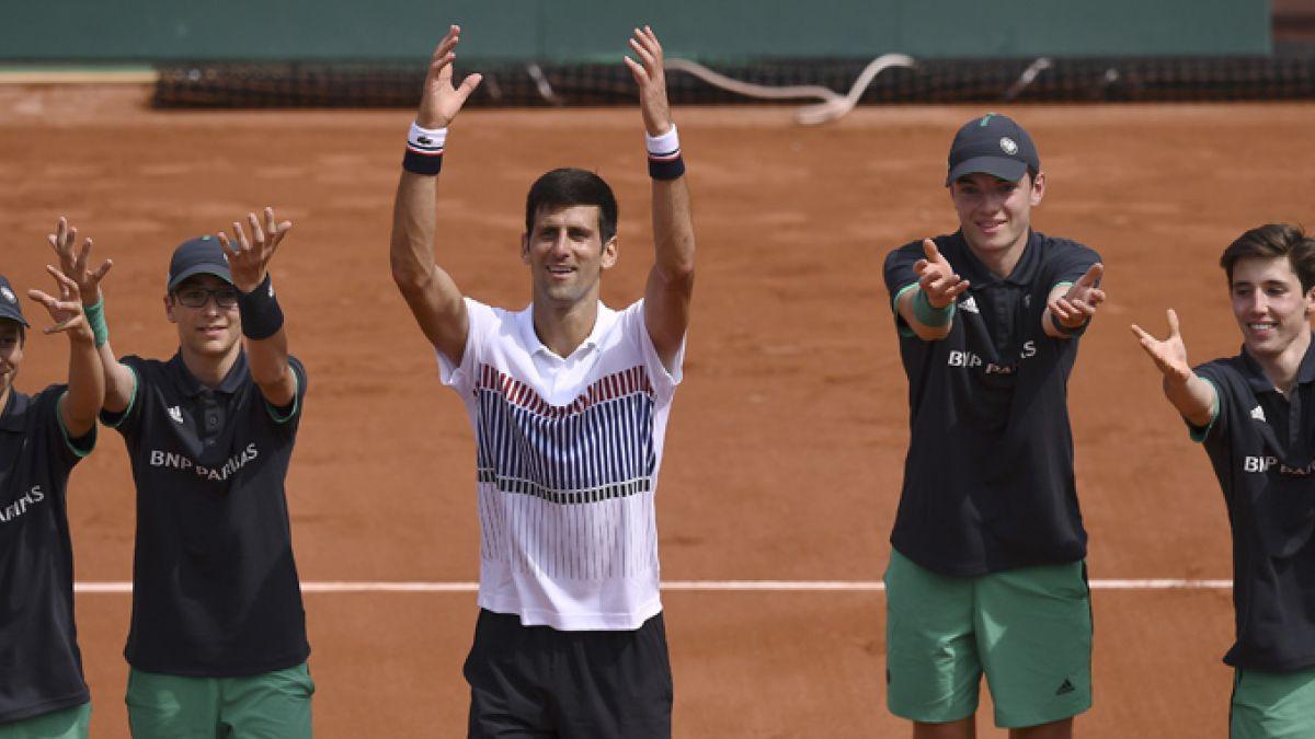 Roland Garros: Schwartzman cayó en cinco sets ante Djokovic