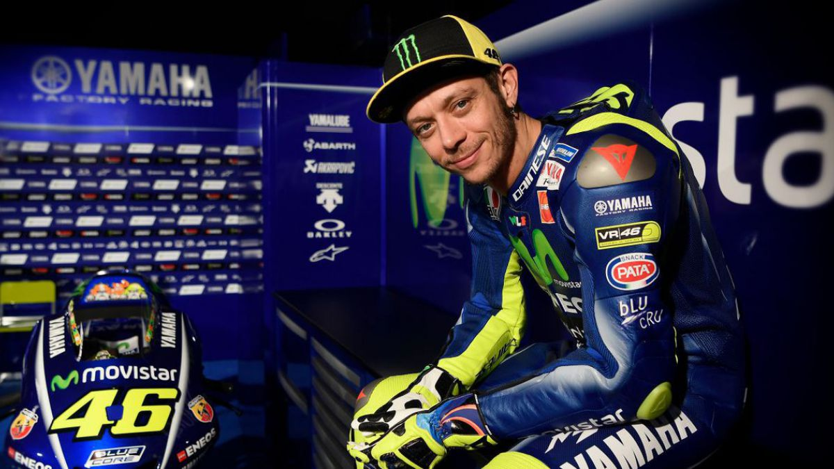 Valentino Rossi tiene el alta médica y correrá en Mugello