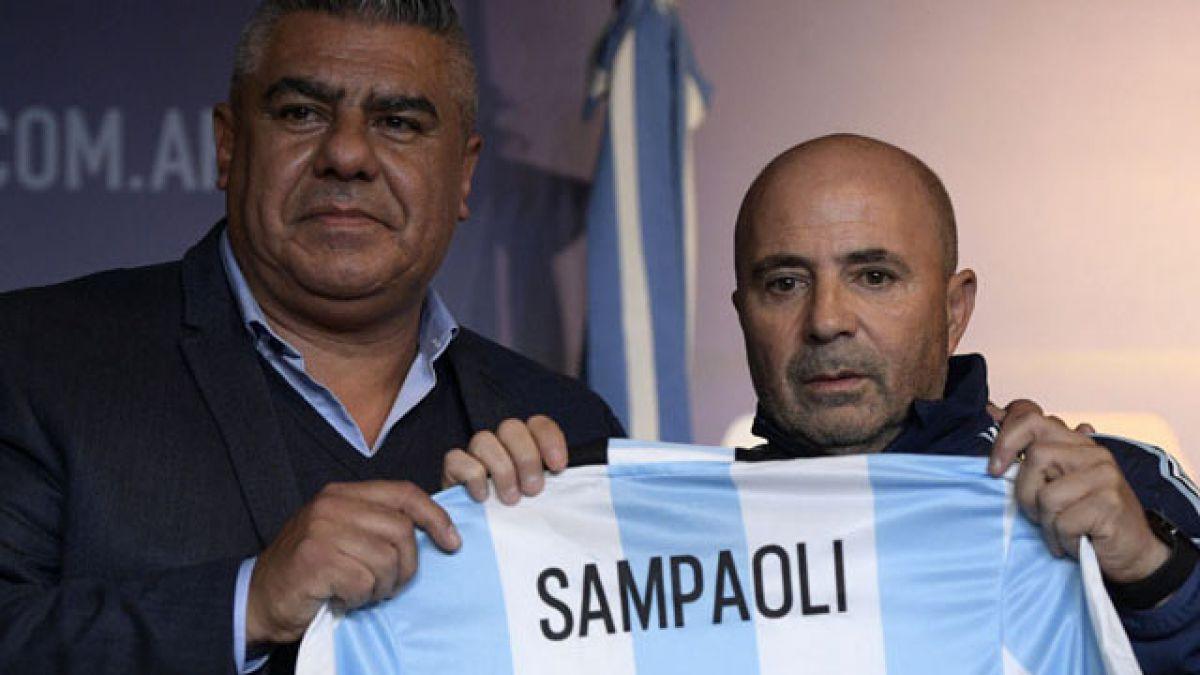 """Sampaoli es presentado como DT de Argentina: """"Es un sueño que anhelaba hace mucho tiempo"""""""