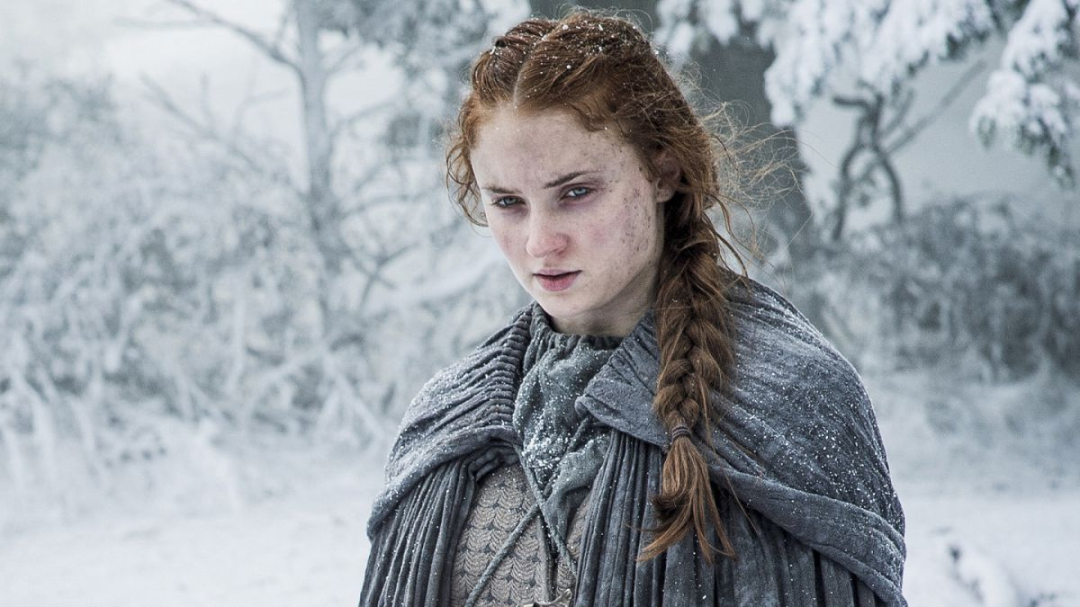 Sansa Stark de Game of thrones sale al rescate de los niños de Stranger things