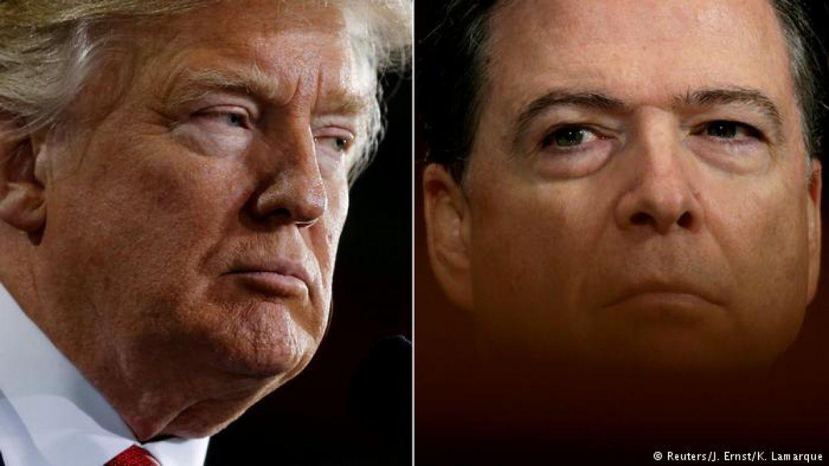 Trump carga de nuevo contra Comey; lo acusa de