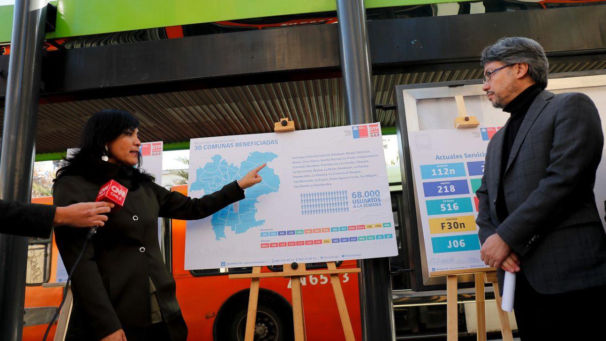 Transantiago tendrá 30 recorridos con itinerario desde el segundo semestre
