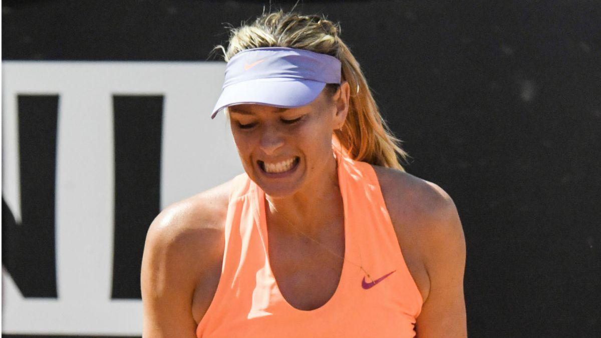 Sharapova error Wimbledon y sólo por
