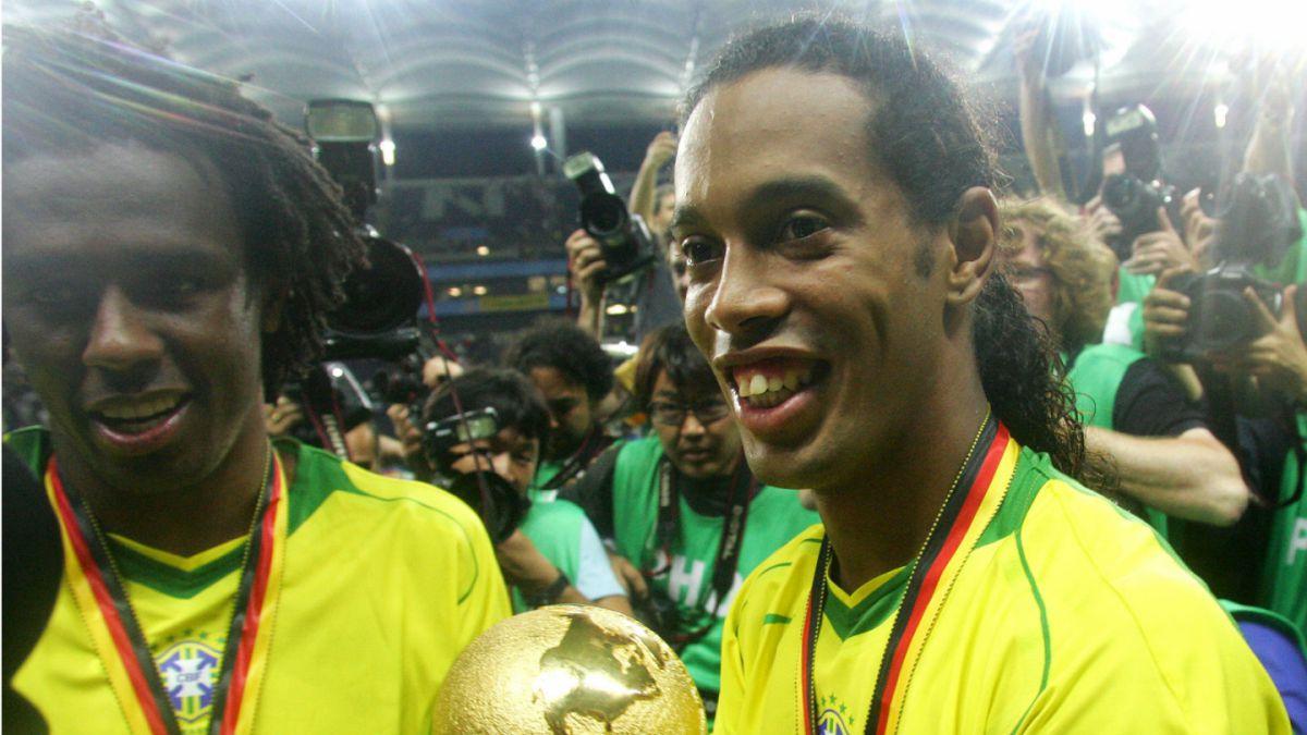 [VIDEO] Ronaldinho recuerda su magia en histórico duelo ante Bélgica