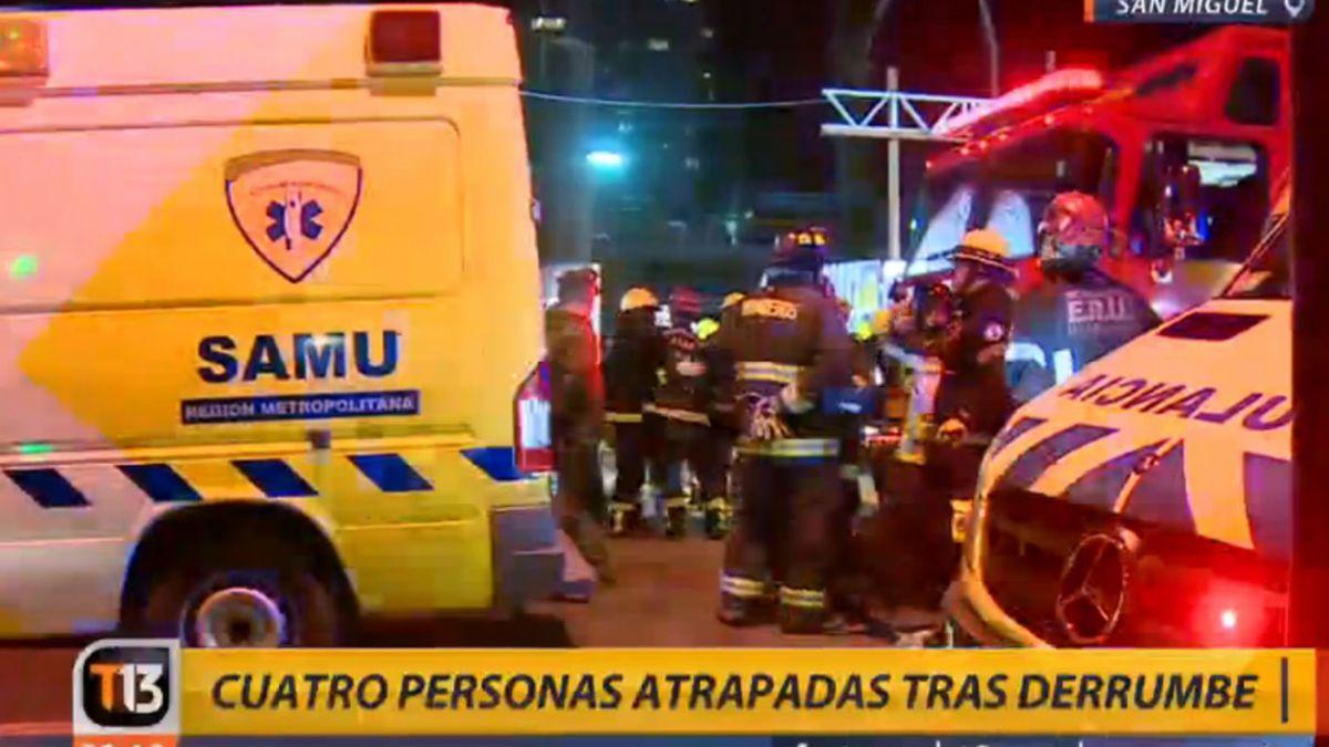 San Miguel: derrumbe en edificio en construcción deja trabajadores atrapados