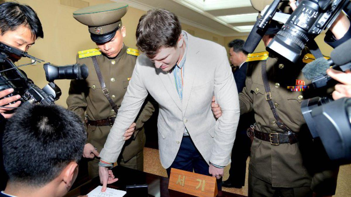 Familia de Otto Warmbier asegura que falleció el joven que estuvo prisionero en Corea del Norte