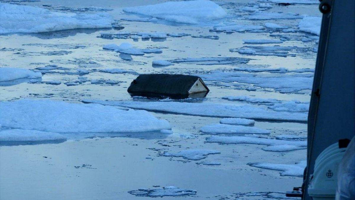 Las impactantes imágenes del tsunami que destruyó viviendas y dejó varios desaparecidos Groenlandia