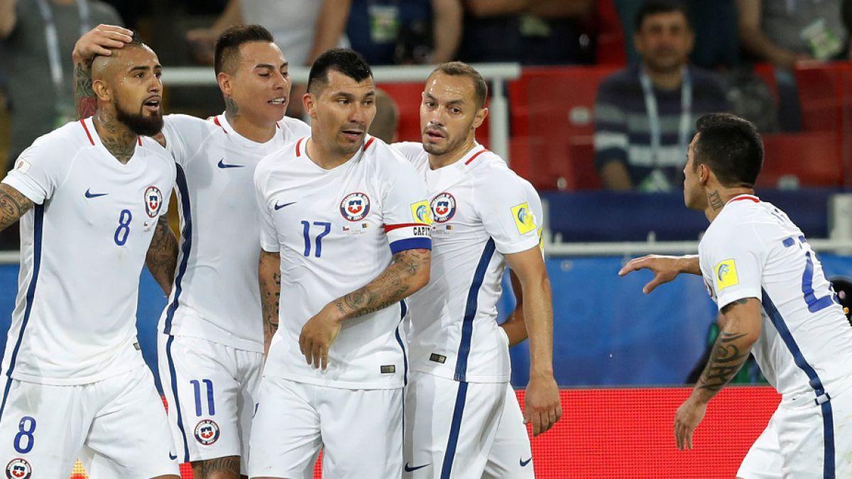 COLOMBIA: Alemania y Chile igualaron a un gol en la Copa Confederaciones