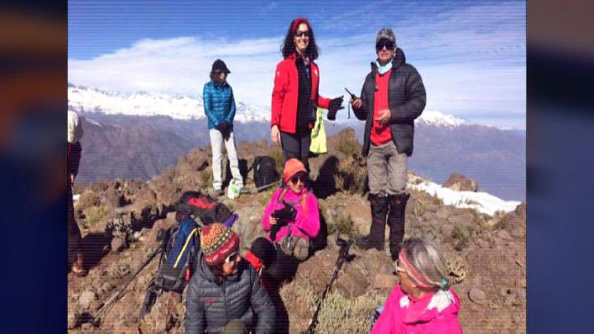 Buscan a 11 personas desaparecidas en el volcán Lonquimay
