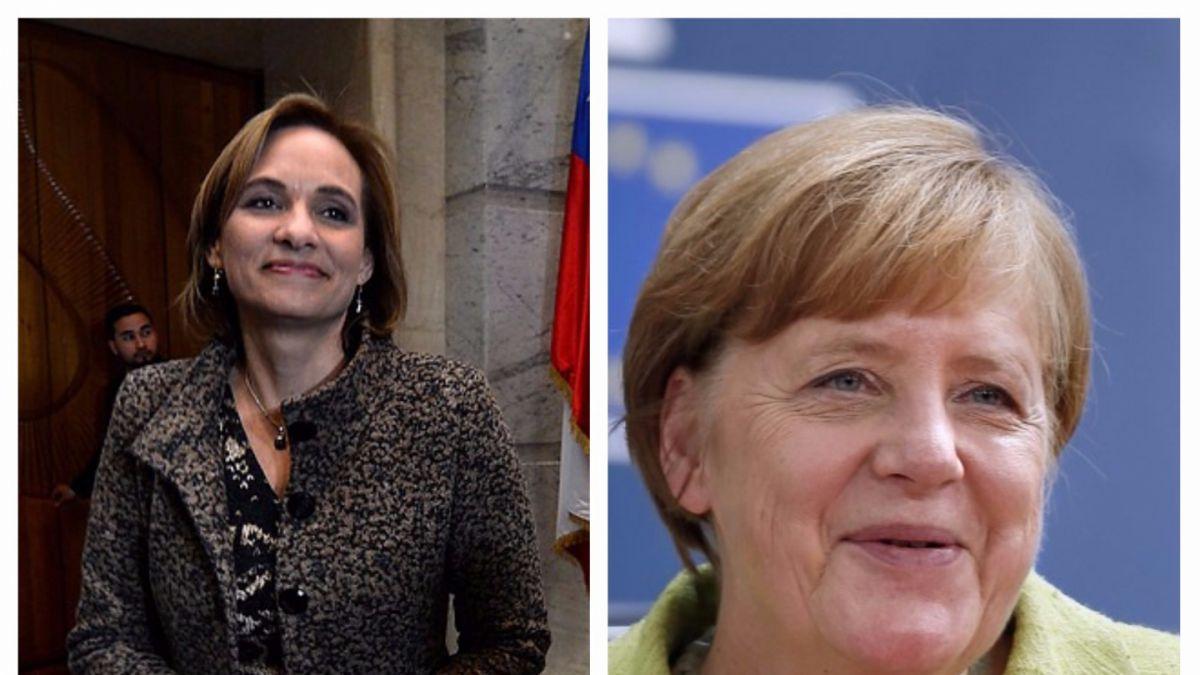 Carolina Goic se reunió con Angela Merkel