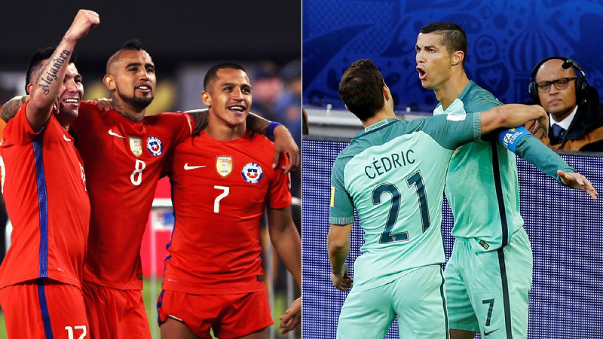 Chile desafía a Portugal de Cristiano Ronaldo buscando una nueva final por Canal 13