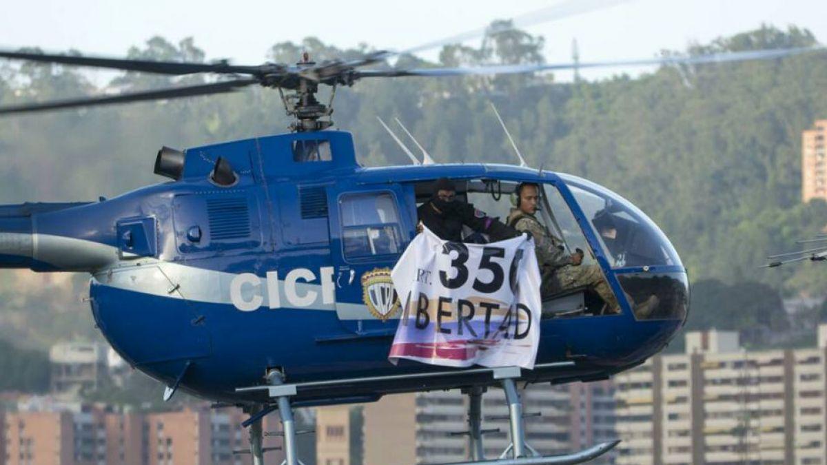 Helicóptero policial ataca a balazos a Supremo de Venezuela