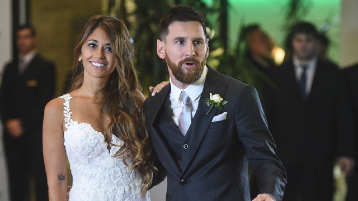 Matrimonio Messi : Lionel messi y antonella roccuzzo contraen matrimonio