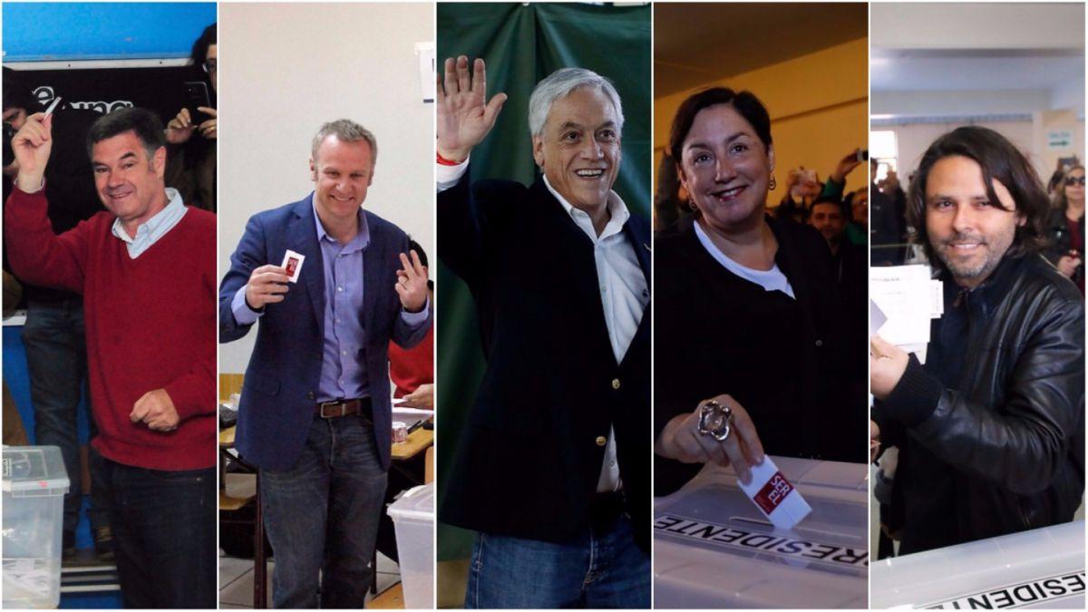 Primarias: Revisa los resultados de los candidatos de Chile Vamos y el Frente Amplio