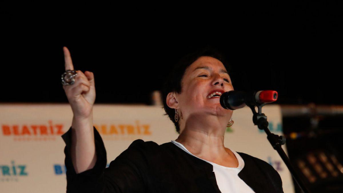 Beatriz Sánchez plantea sacar las AFPs del sistema